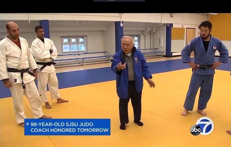 98-year-old San Jose Judo coach Believes Judo Is a Key To Youth