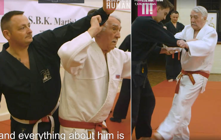 94 Year Old Judo Sensei Credits Judo With His Vitality: Get Off Your Butt and Do Something!