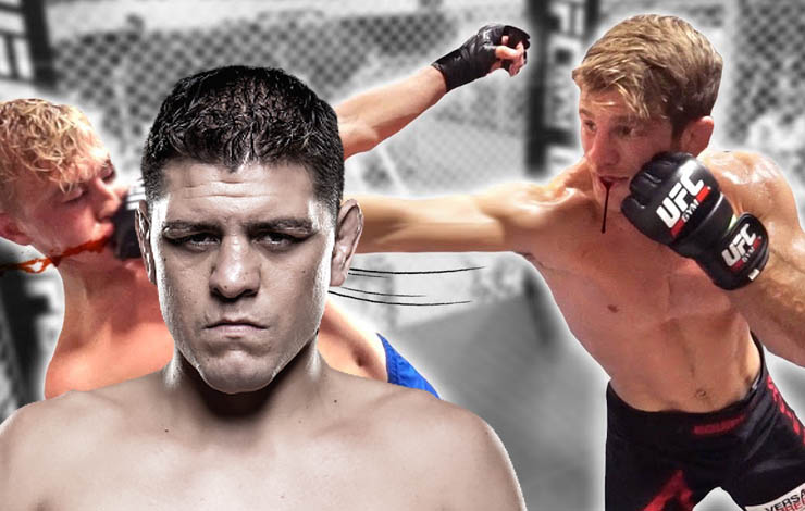 Nick Diaz Playfights AJ Agazarm, Is Agazarm Looking To get Back Into MMA?