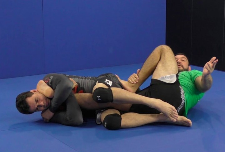 Four Half Guard Leg Locks