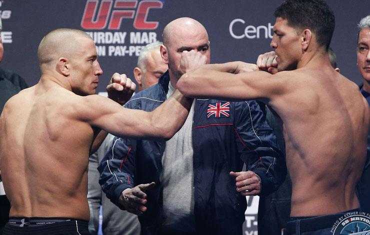 Nick Diaz Alleges He Was Poisoned Ahead Of GSP Bout – and that GSP was Overweight