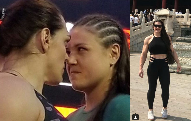 Gabi Garcia Weighs In at 106.7kg Against 88Kg Opponent