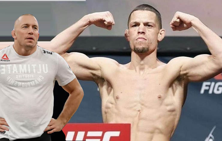 Dana White Looking To Make Gsp And Nate Diaz Match Up