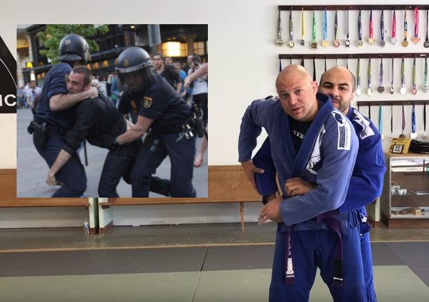 "Kimura For Cops by Brian ""The Jiu-Jitsu Cop"""