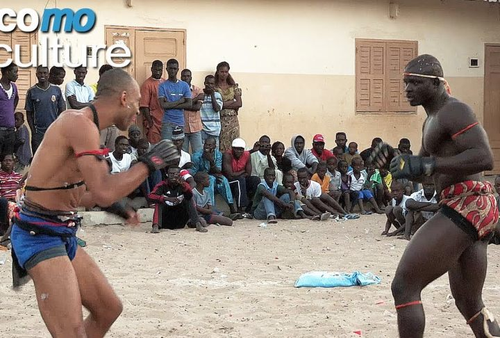 Kickboxing World Champion Takes The Challenge, Grapples Senegalese Wrestlers
