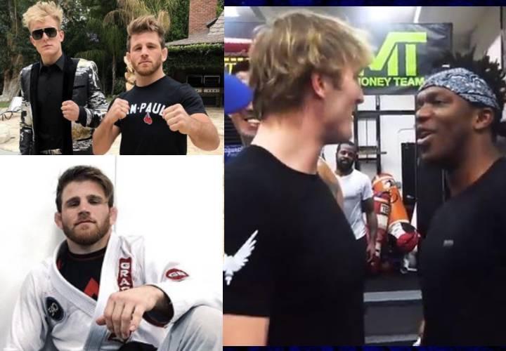 BJJ World Champ AJ Agazarm is The New Bodyguard of Youtube Superstars Logan & Jake Paul