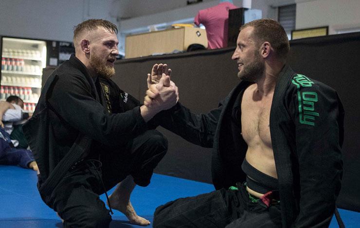 "Conor McGregor Training Gi Again – "" It's fun """