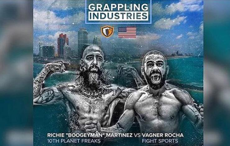 Grappling Industries Steps Up - Vagner Rocha Boogeyman