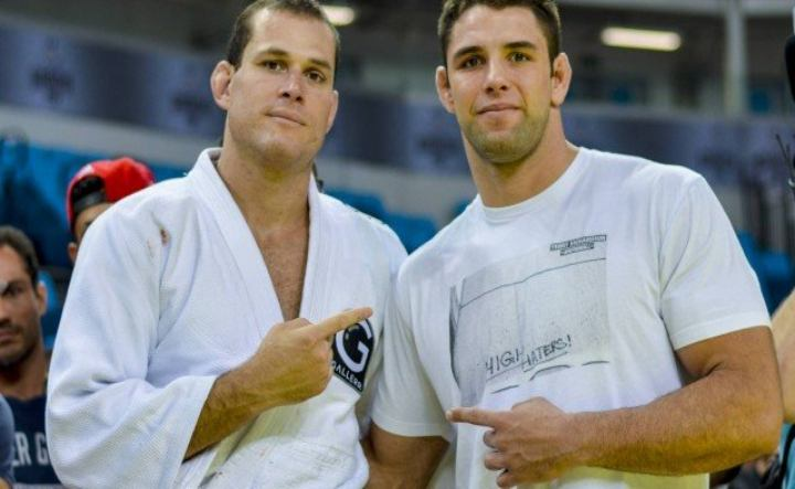 Rivals On the Mats, Roger Gracie & Buchecha Team Up For Unprecedented Training Session