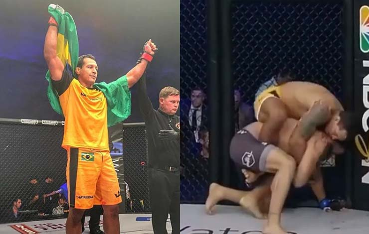 Vinny Magalhaes Victorious in Round 1 of Pro Fighter's League 1.000.000$ Worth Tournament
