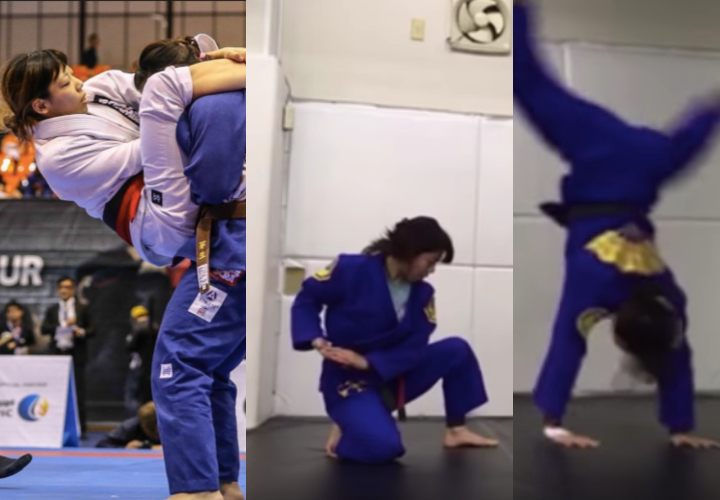 BJJ Academy Closed? Try This 1 Hour Solo Drill Routine from 4X BJJ World Champion Rikako Yuasa