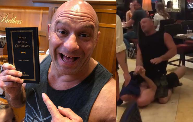 Matt Serra Got In A Scuffle With Drunk Guy Ahead Of UFC Hall of Fame Induction