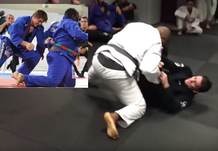 Rafael Mendes Rolling w/ 280lbs Black Belt Shows Us The Blueprint Dealing w/ Ultra Heavyweights