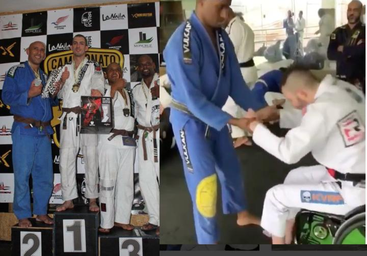 BJJ Black Belt Champ Returns To Jiu-Jitsu After Near Fatal Motorcycle Accident