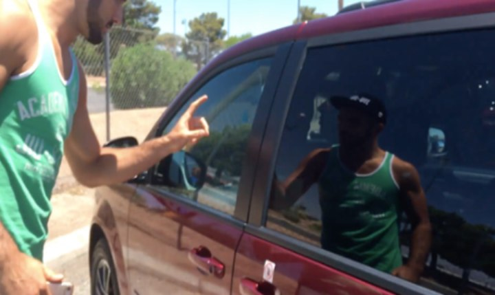 Rener Gracie Tracks Down UBER Driver Who Stole His Phone