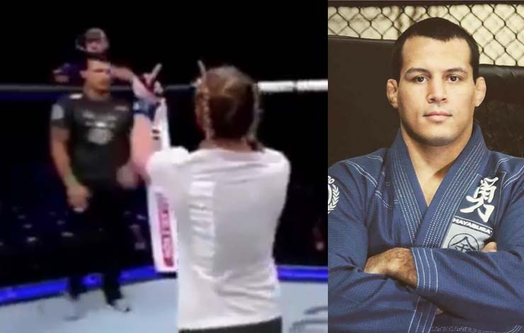 Vinny Magalhaes Responds To UFC Fighter Who is Dismayed He Cornered Against Her After Training Together