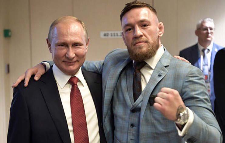 Khabib Who ? Putin Fanboys Over Meeting McGregor
