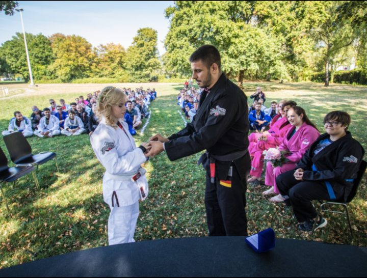 BJJ Couple's Epic Wedding Ceremony at BJJ Globetrotters Camp