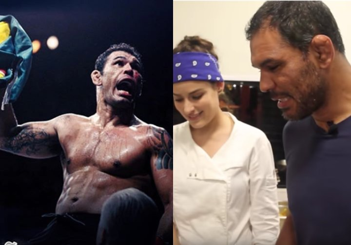 Retired Minotauro Nogueira Shows Off His New Restaurant & 'Minotauro Steak'
