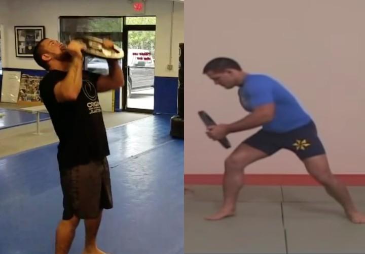 Tom DeBlass & Saulo Ribeiro's Easy Plate Workout For BJJ