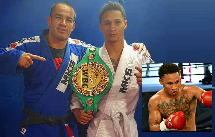 Boxing Star Regis Prograis Shows Off BJJ training in Brazil – Teases Cross Over
