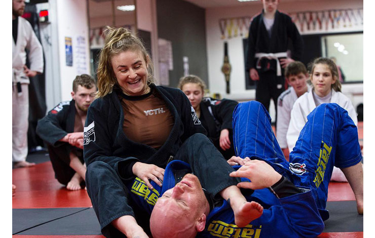 Erin Herle: Jiu Jitsu Community Reduces Mental Health Stigma & Encourages People To Feel Comfortable
