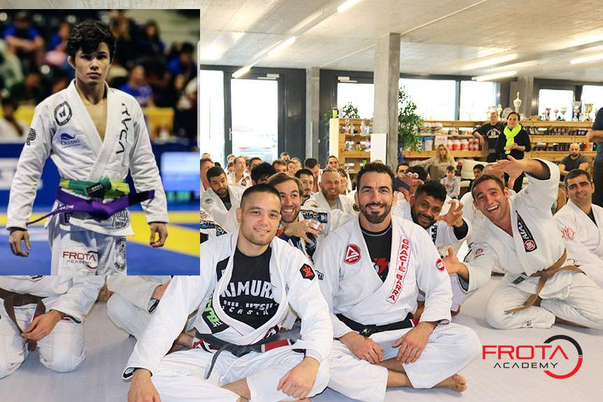 5x World Champion Thalison Soares Camp At Frota Academy in Zurich