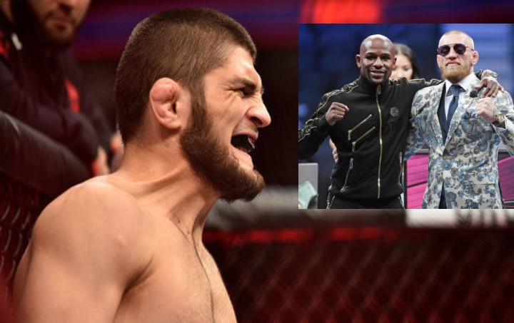 Floyd Mayweather Gives Fight Advice to Khabib About Conor McGregor