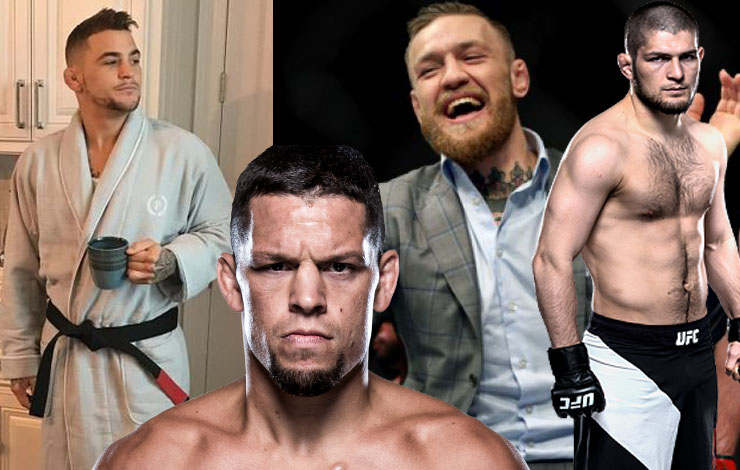 UFC Announces McGregor Khabib – Nate Diaz Throws A Temper Tantrum