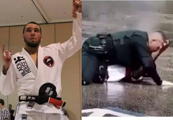 Bad Guy Can't Handle Brazilian Jiu-Jitsu Black Belt Cop Ruben Alvarez