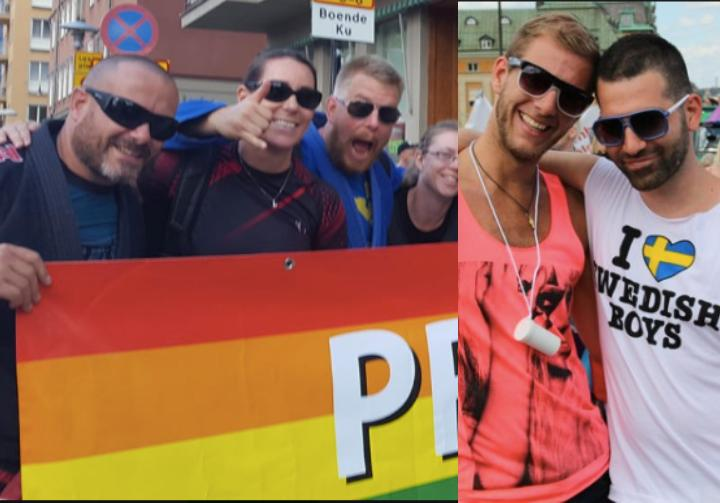 Swedish BJJ Federation Participates in Stockholm Gay Pride Parade