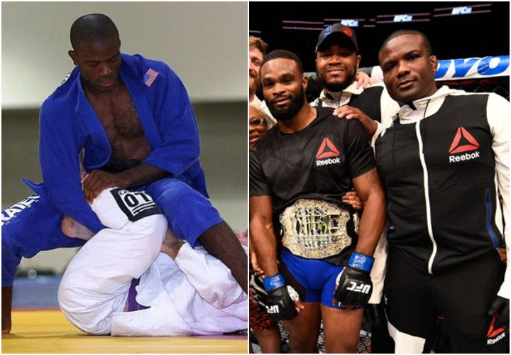 Tyron Woodley Coach Din Thomas: 'Life is Like Training in BJJ. Sometimes you Get Mounted…'