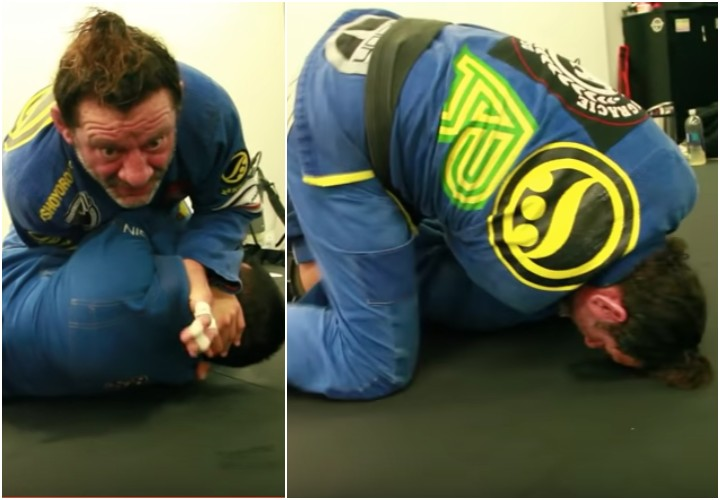 Switching Sides on A Choke To Add Extra Leverage- Kurt Osiander