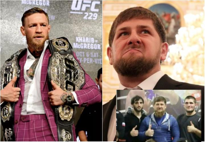 'Watch your mouth if you don't want trouble!' Chechen MMA fighter to McGregor on Kadyrov Comments