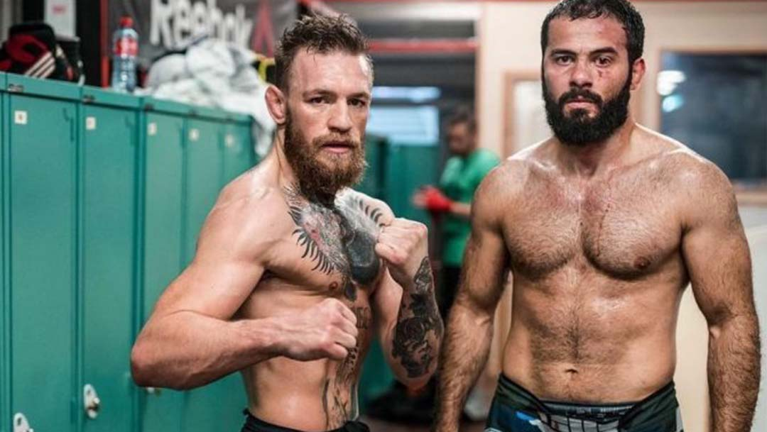Conor McGregor brings Out Alliance Black Belt To Help Prep For Khabib