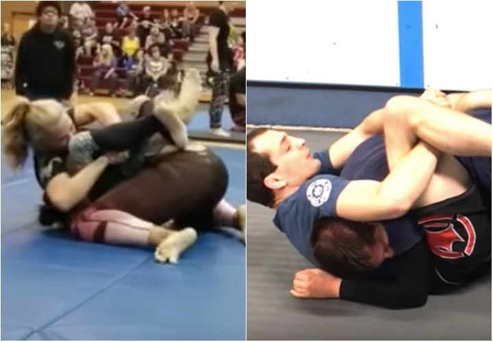 The 'Lat Choke' Sneaky Submission From Closed Guard