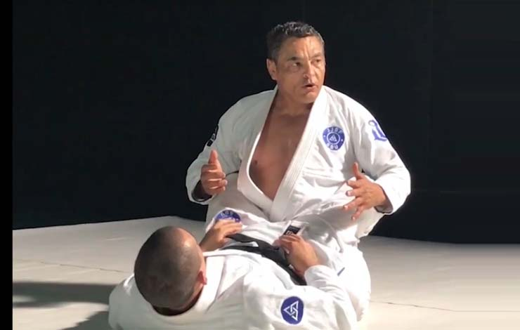 Rickson Gracie Teaches How To Keep your Posture