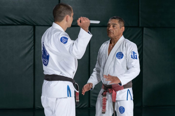 Rickson Gracie On Why He Teaches Weapons Defenses To Everyday People & BJJ Practitioners