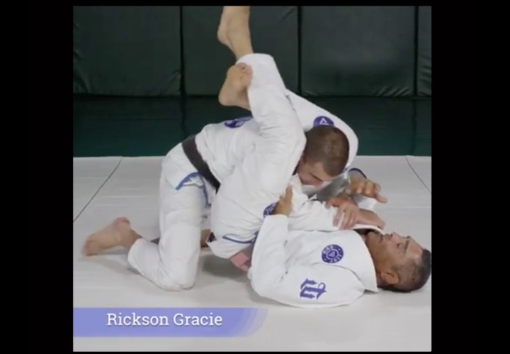 Rickson Gracie's Game Changing Detail To Adjusting a Triangle