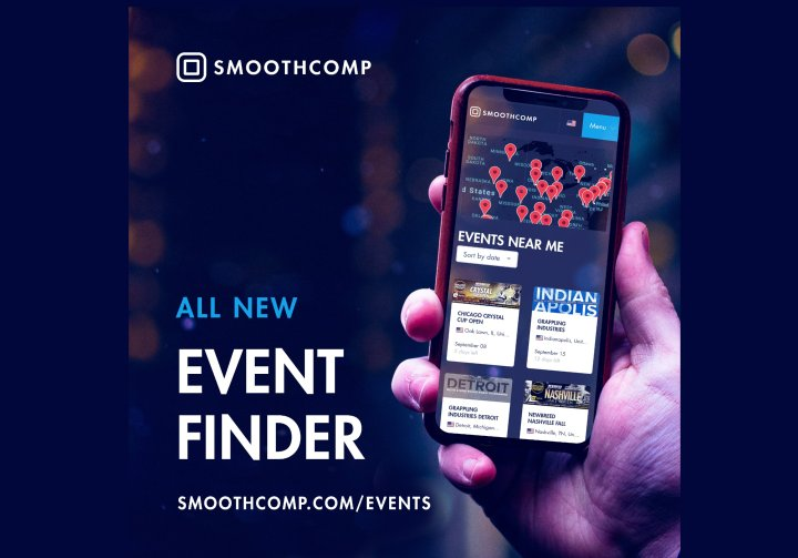 smoothcomp u0026 39 s new bjj event finder is a tool to die for
