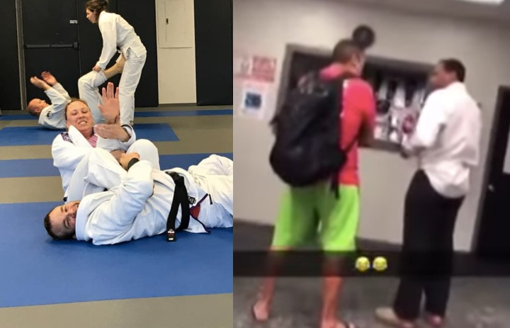 Guy Enters MMA/BJJ Gym & Starts Acting Very Strange