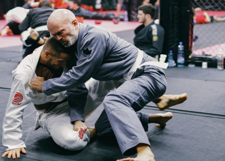 How To Get Really Good at Jiu-Jitsu When Only Training with White Belts