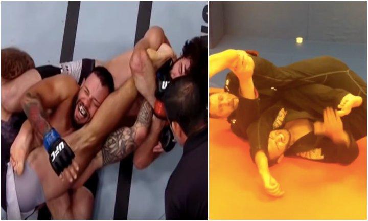 How To Do Zabit Magomedsharipov's Hamstring Stretch Submission/Kneebar