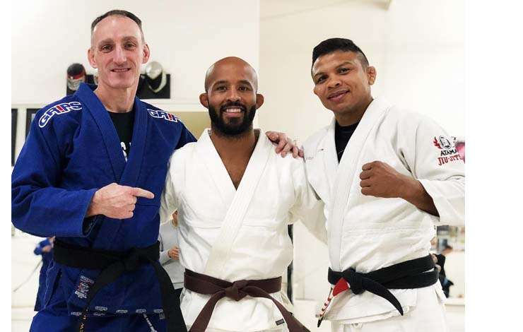 "Demetrious ""Mighty Mouse"" Johnson Receives Brown Belt"