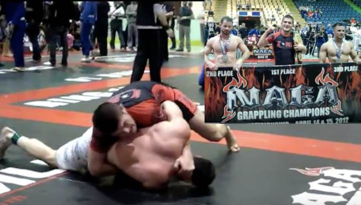 Flashback: When Khabib 'Smeshed' His Way To Winning NAGA Worlds Expert Division