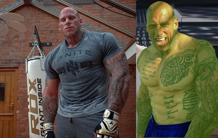 HULK SMASH: Real Life Hulk Martyn Ford To Start MMA Career