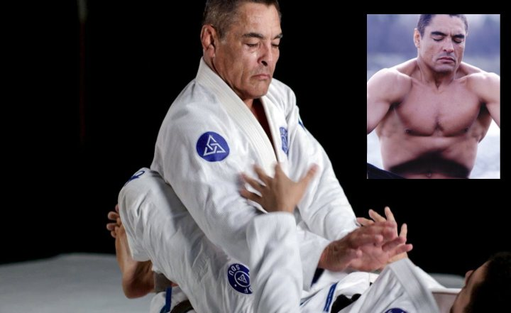Rickson Gracie Shows Arm-in Stack Pass That Confuses Newbies