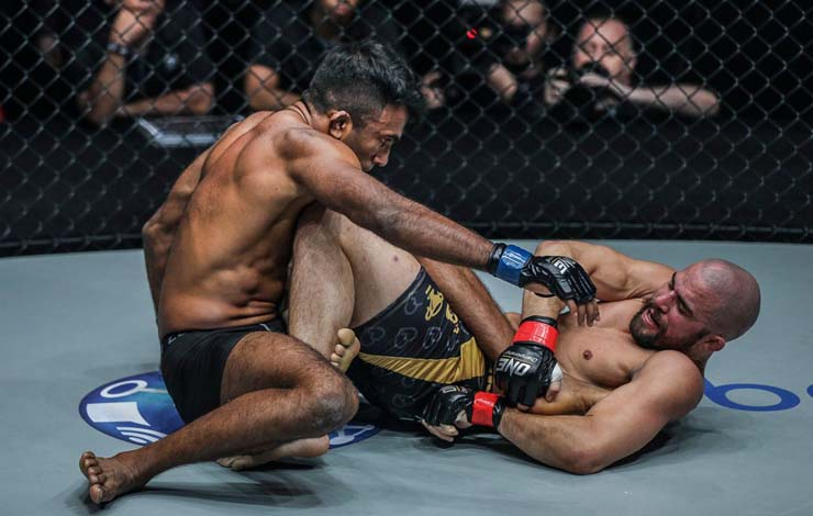 """Garry Tonon's MMA Opponent Rahul Raju """"very happy with his purple belt"""" & """"trained leglocks for 2 months"""""""