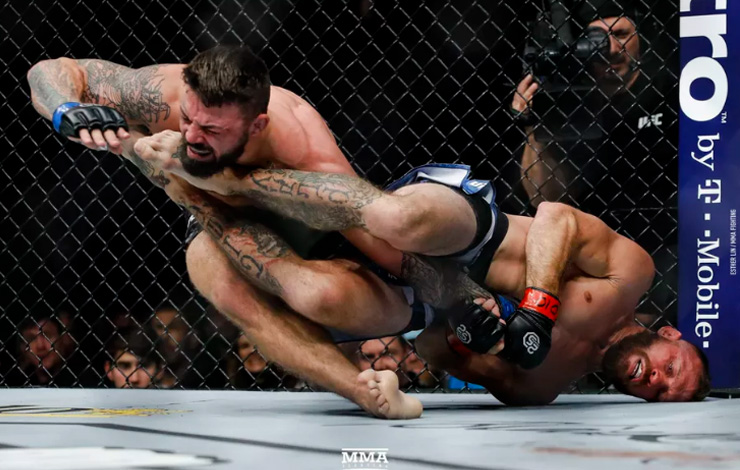 Mike Perry Blames Loss On Getting Caught Up in Cowboy Cerrone Creonting from JacksonWink