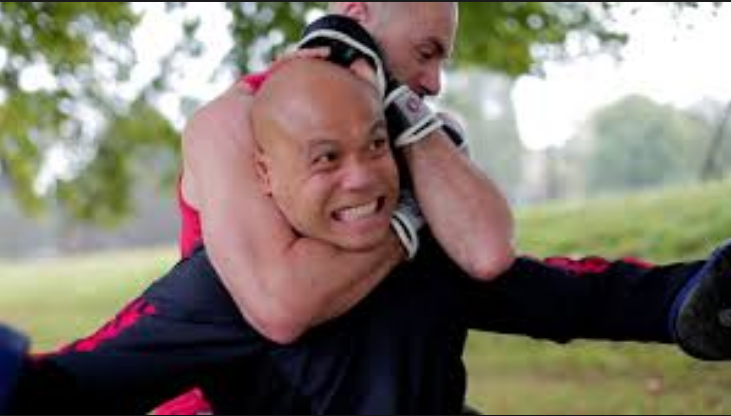 MMA Fighters try Master Wong's self-defense
